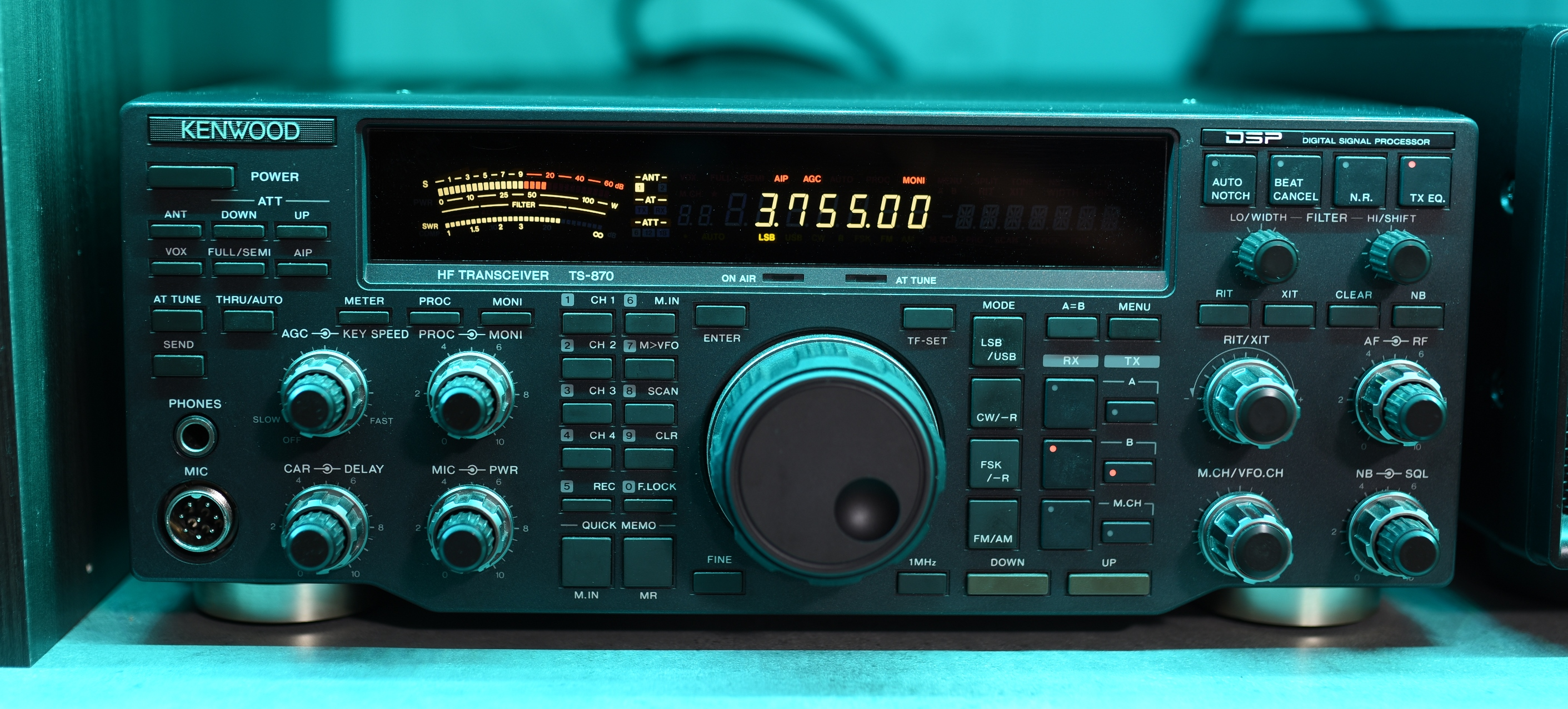 VA3ASO - Kenwood TS-850S Shrine